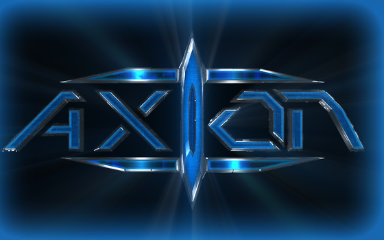 Axion Logo - Wallpaper Version by Solusphere
