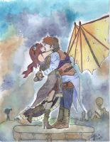 SteamPunk Lovers by NipsAndCurve