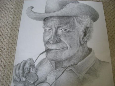 Old fart in cowboy hat by The-EvIl-Plankton