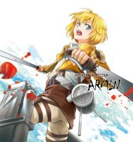 Shingeki no Kyojin -Armin by moonu17