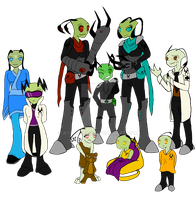Blood Feather Crew .:Flats:. by Athenafire