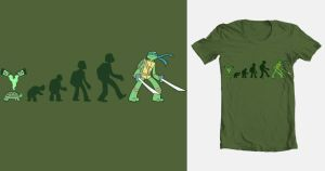 Evolution of Awesome - Threadless Contest by Effar
