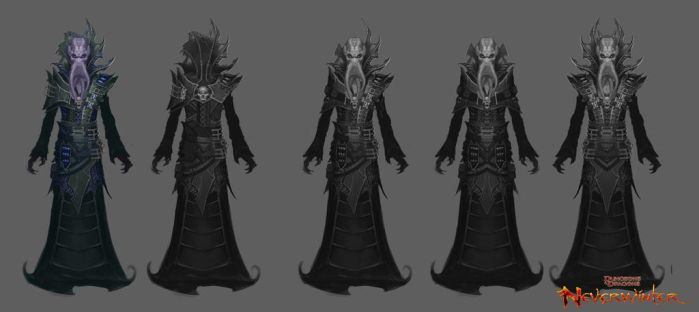 Neverwinter Concept: Mindflayer Costume by CarmenSinek