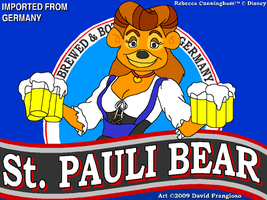 St. Pauli Bear by tpirman1982