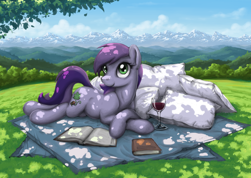 Relaxing Afternoon by Choedan-Kal