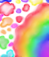 Paint with the Rainbow by zakuro989