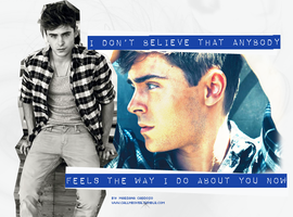 Zac Efron by hidingmymess