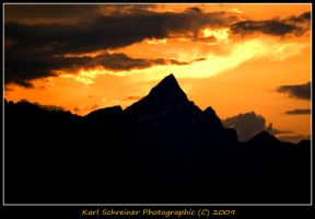 Brussels Peak Sunset 1 by KSPhotographic