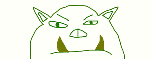 Orc Face by Gery850