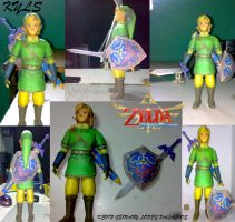 Skyward Sword Link FOTOS by geokyls