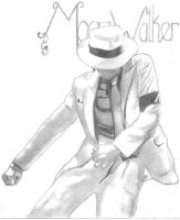 Micheal Jackson the MoonWalker by boy225