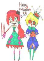 Happy Halloween 2008 by Tesuway-chan