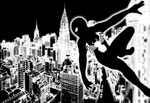 Black Suit Spider-Man Symbiote Wallpaper by bat123spider