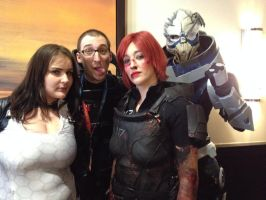 Mass effect crew cosplay by artisticangel17