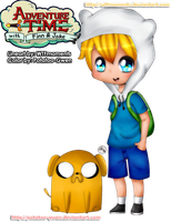 Finn and Jake! by Potatoo-Gwen