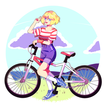 Happy Ride by AngelAik0