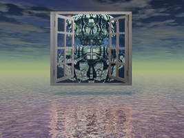 Window to the Mandelbulb World by catelee2u