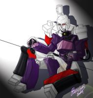 TF :Megatron n Shockwave by Beriuos