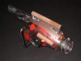 Evil Dead Chainsaw - Back by DrOctoroc