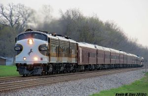 Norfolk Southern Blue Ribbon Award Passenger Train by EternalFlame1891