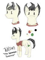 Don't Starve Ponies Adopt: Wilson (Closed) by perfectnesspony