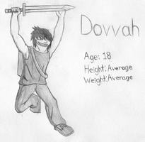 Dovvah Charecter Sheet (Sketch) by shadow-recon-666