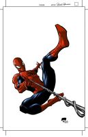 Here's Spidey in Color by Roger-Robinson