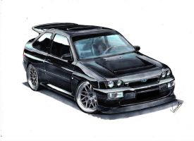 Ford Escort Cosworth RS by vsdesign69
