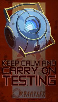 Wheatley - Keep Calm by TheMinttu