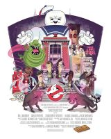 Ghostbusters Movie Poster Print by TheBeastIsBack