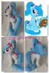 My Little Pony Plush Commission Snowdream OC by CINNAMON-STITCH