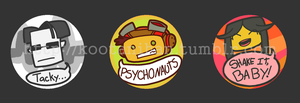 Psychonaut Button Set by Kootani