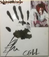 CELL- Kon's Hand print and Autograph by xxXSketchBookXxx