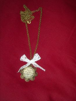 Text necklace by embla-chan