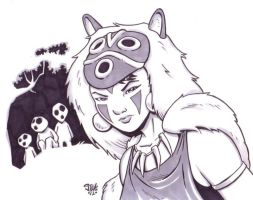 Princess Mononoke by Steevcomix
