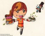 Cooking Flora 4 by SamCyberCat
