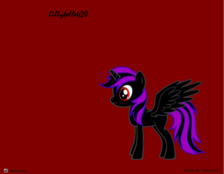 Depressed pony. by LillyBelle420