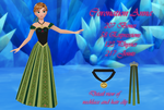 MMD Coronation Anna DL by 0-0-Alice-0-0