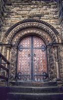 Newcastle Door by PaulWeber