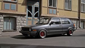 VW GOLF II by ShadowPhotography