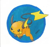 Raichu by Randomous