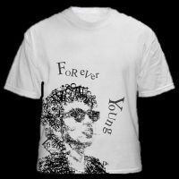 bob dylan tshirt by alien2000