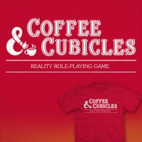 Coffee and Cubicles - tee by InfinityWave