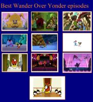Favorite Wander Over Yonder Episodes by trachie171