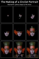 Making of - Mad Hatter by BenHeine