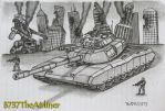 M10A2 Super Abrams Heavy Tank by B737TheAirliner