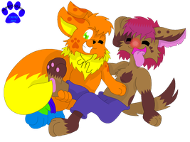 GA: Tickle the Puppy by Marquis2007