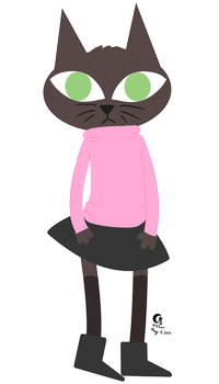 NITW kitty by Kitixx