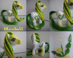 My little Pony Custom Blowball $43 by BerryMouse