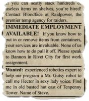scrap from newspaper 3 by gapystock